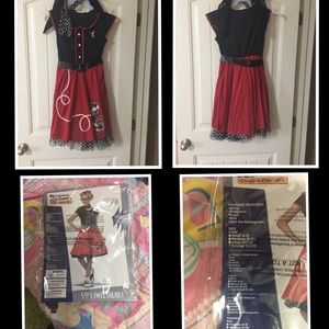 Girls 50's Sweetheart costume